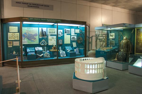 В музеях Узбекистана